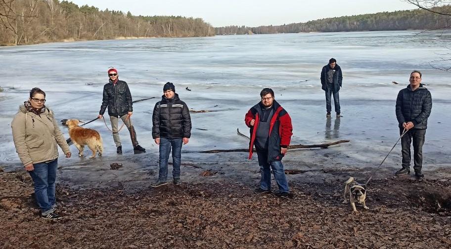 Mittwochs-Gruppe am Bötz-See